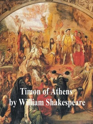 cover image of Timon of Athens, with line numbers
