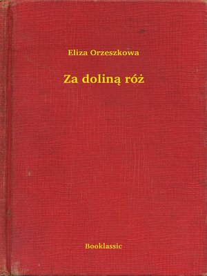 cover image of Za doliną róż