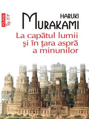 cover image of La capatul lumii si in tara aspra a minunilor