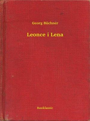 cover image of Leonce i Lena