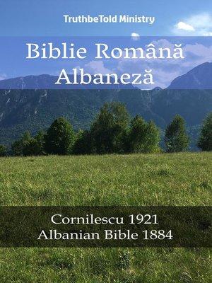 cover image of Biblie Română Albaneză