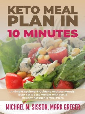 cover image of Keto Meal Plan in 10 Minutes