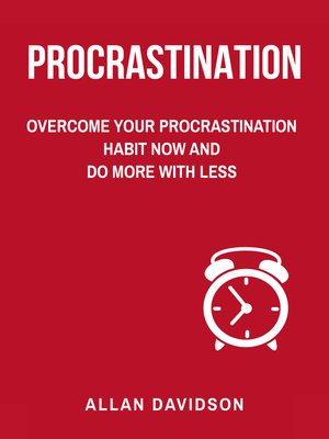 cover image of Procrastination