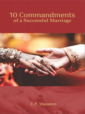 cover image of 10 Commandments of a Successful Marriage