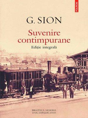 cover image of Suvenire contimpurane