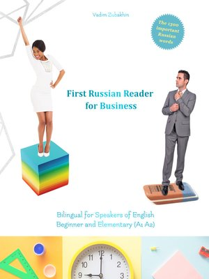 cover image of First Russian Reader for Business