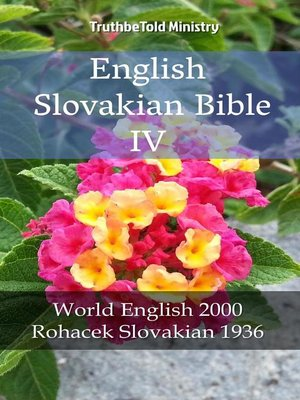 cover image of English Slovakian Bible IV