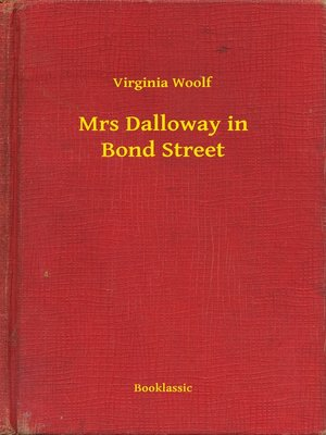 cover image of Mrs Dalloway in Bond Street