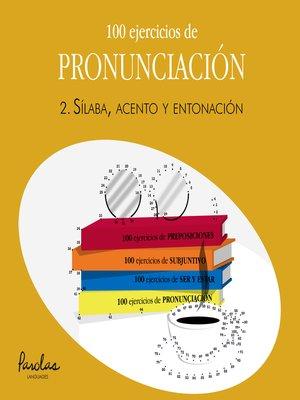 cover image of Sílaba, acento y entonación