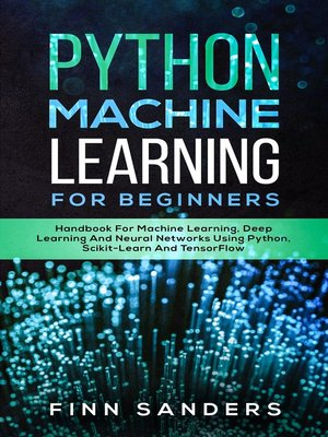 cover image of Python Machine Learning For Beginners