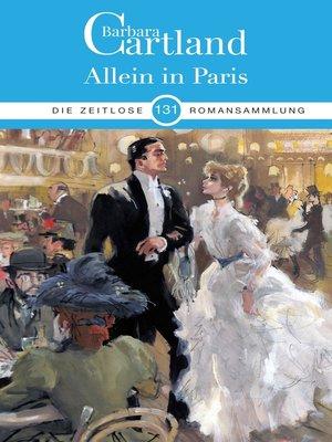 cover image of Allein in Paris