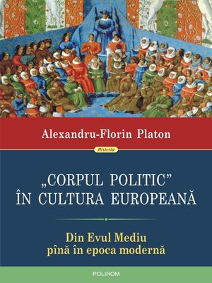 """cover image of """"Corpul politic"""" în cultura europeană"""
