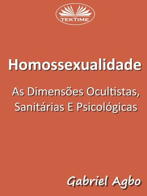 cover image of Homossexualidade