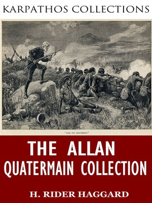 cover image of The Allan Quatermain Collection