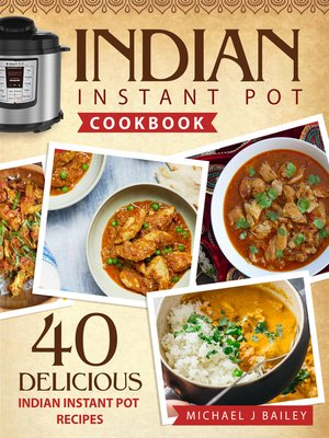 cover image of Indian Instant Pot Cookbook