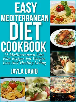 cover image of Easy Mediterranean Diet Cookbook