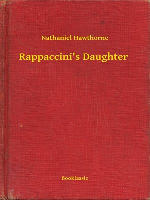 cover image of Rappaccini's Daughter