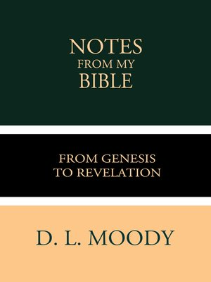 cover image of Notes from My Bible
