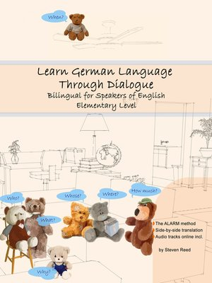 cover image of Learn German Language Through Dialogue