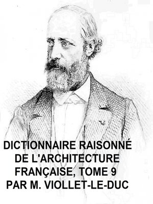 cover image of Dictionnaire Raisonne de l'Architecture Francaise, Tome 9