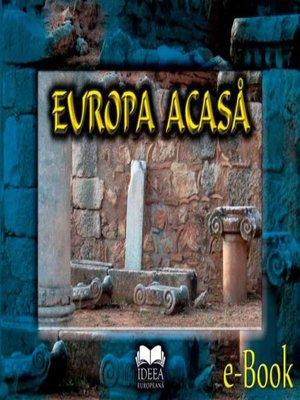 cover image of Europa acasă