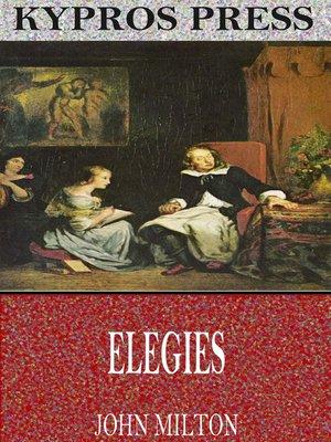 cover image of Elegies
