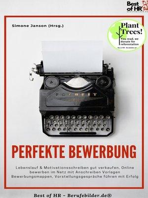 cover image of Perfekte Bewerbung
