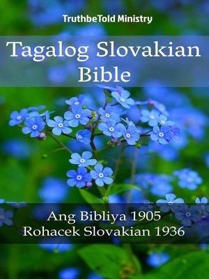 cover image of Tagalog Slovakian Bible