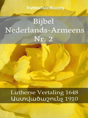 cover image of Bijbel Nederlands-Armeens Nr. 2