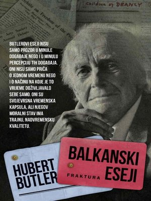 cover image of Balkanski eseji