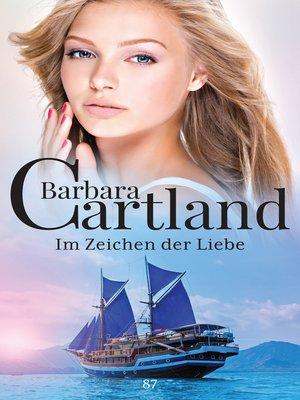cover image of Im Zeichen der Liebe