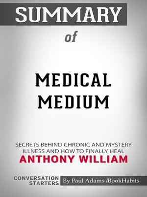 cover image of Summary of Medical Medium
