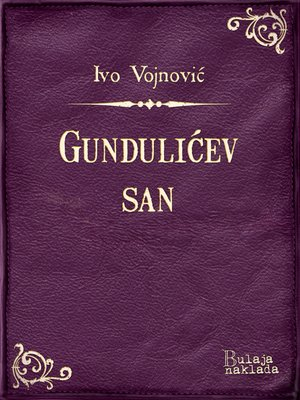 cover image of Gundulićev san