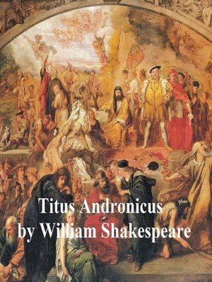 cover image of Titus Andronicus, with line numbers