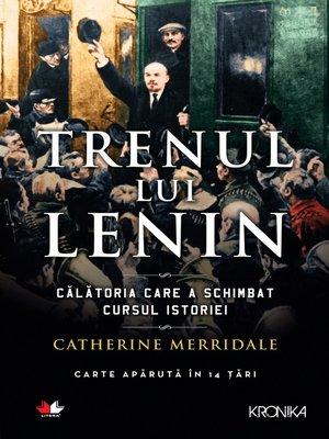 cover image of Trenul Lui Lenin