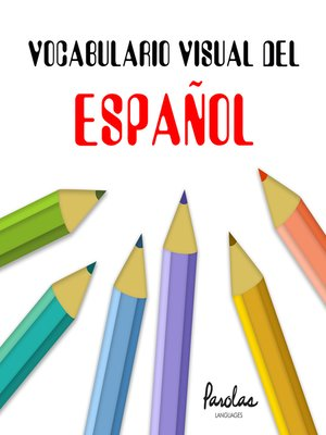 cover image of Vocabulario visual del español