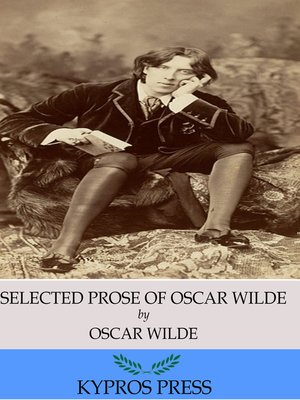 cover image of The Selected Prose of Oscar Wilde