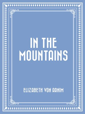 cover image of In the Mountains