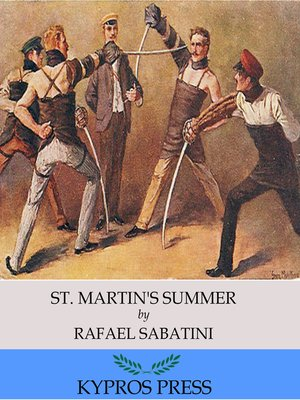 cover image of St. Martin's Summer