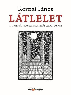 cover image of Látlelet