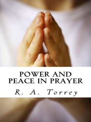 cover image of Power and Peace in Prayer