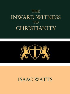 cover image of The Inward Witness to Christianity