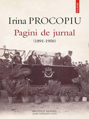cover image of Pagini de jurnal (1891-1950)