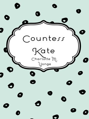cover image of Countess Kate