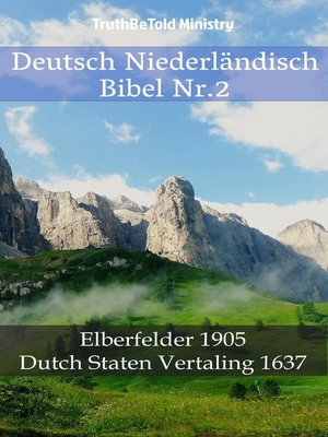 cover image of Deutsch Niederländisch Bibel Nr.2