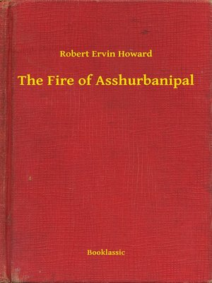 cover image of The Fire of Asshurbanipal