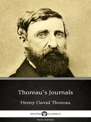 cover image of Thoreau's Journals by Henry David Thoreau--Delphi Classics (Illustrated)
