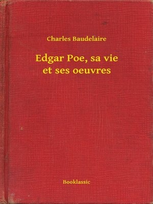 cover image of Edgar Poe, sa vie et ses oeuvres