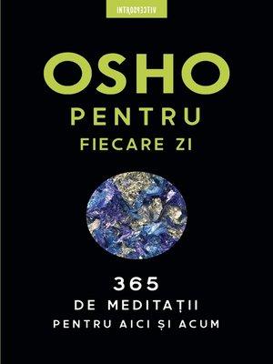 cover image of OSHO--Osho Pentru Fiecare Zi