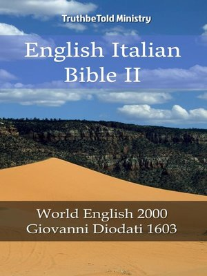 cover image of English Italian Bible II